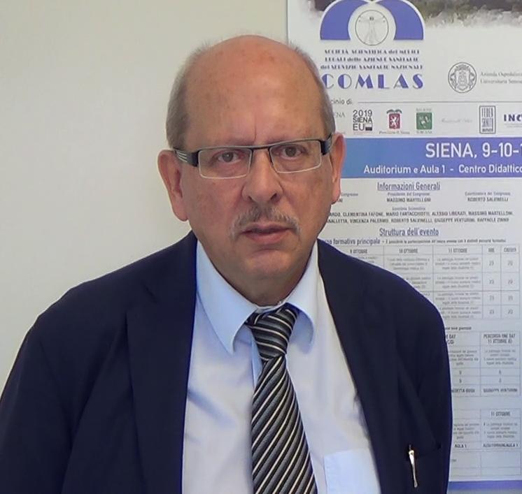 Presidente Nazionale Società Scientifica COMLAS Prof. Massimo Martelloni
